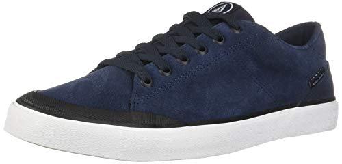 Volcom Leeds Suede Shoe, Zapatillas de Skateboard Hombre, Azul (Navy Nvy), 39 EU