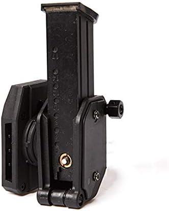XFC-DANJIA, 2019 Multi-ángulo Revista Velocidad Bolsa for IPSC USPSA IDPA Pistola 360 Girar Negro for Todas Las pequeñas enmarcada Glock y CZ75 con