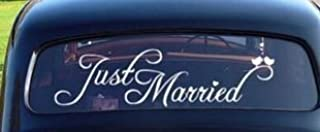 Best wedding car window decals Reviews
