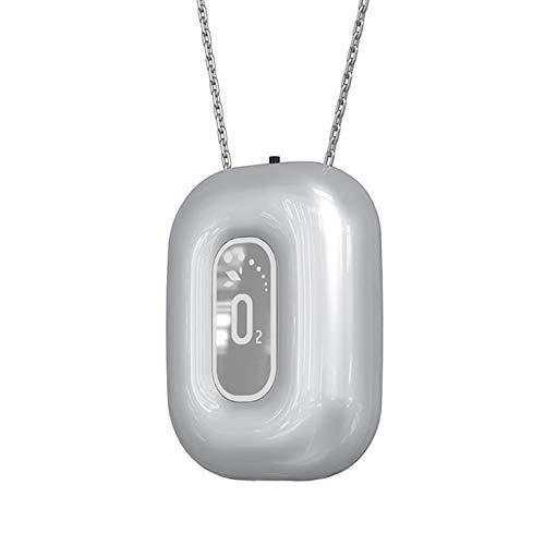 Home indossabile La collana portatile Collana portatile Purificatore d'aria Depuratore Ionico negativo Può essere sterilizzato per rimuovere la polvere di formaldeide utilizzata per purificare l'aria,