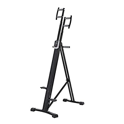 Kemket Climbing Machine - Full Total Body Workout Fitness Folding Cardio Climber Exercise Machine from Kemket