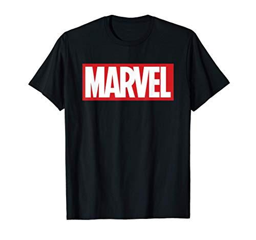 Marvel Classic Bold Logo Maglietta