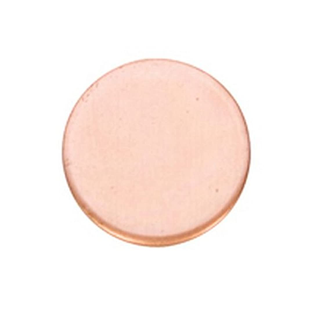 Copper Shape, Circle, 1/2 Inch, 6 Pieces | MET-100.01