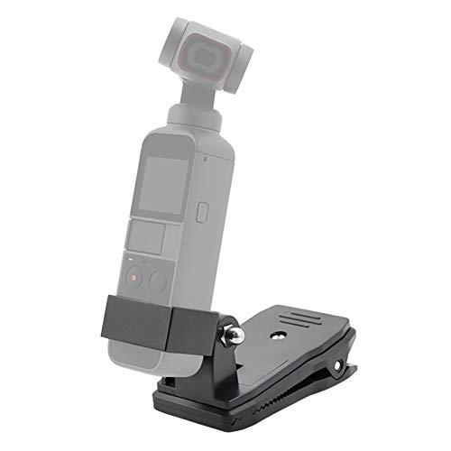 Xingsiyue Clip di Mount Tracolla Smontaggio Rapido Regolabile Supporto a Morsetto per DJI Osmo Pocket 2 Gimbal Camera