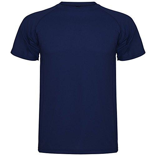 ROLY Camiseta técnica de Hombre Montecarlo, Azul Marino (M)