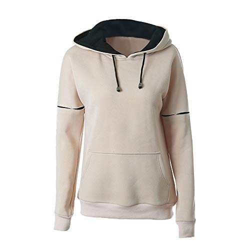 Frauen Herbst/Winter Mid-Long Sports Hoodie Langarm-Shirt