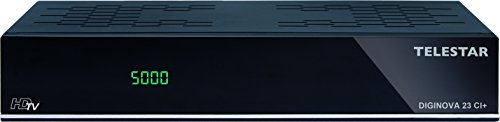 Telestar Diginova 23 CI+ Combo HD Receiver (DVB-S2, DVB-T2, DVB-C, CI+, Web Radio, PVR ready, HDMI, USB, LAN) schwarz