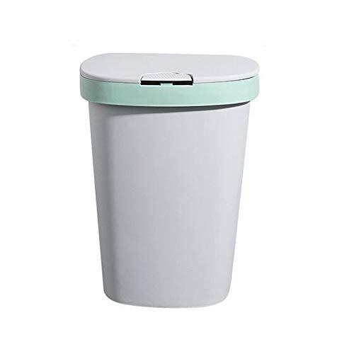 ZRYYD Creatieve huishoudelijke Press-Keuken prullenbak vuilniszakhouder PP Living Room Bathroom Waste Garbage Bin for…
