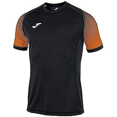 Joma Hispa Camisetas Equip. M/c, Hombre, Negro