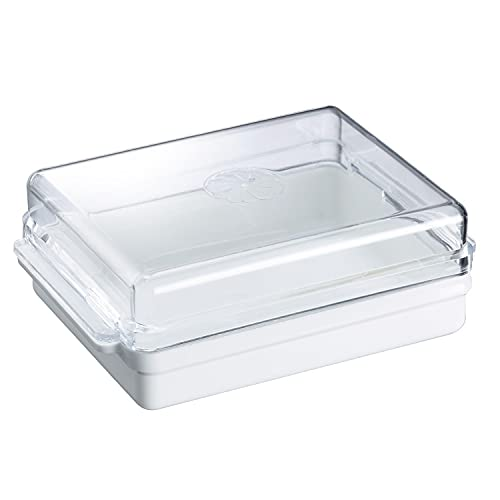 Westmark Burriera, plastica, Traditionell, bianco/trasparente, 20882241