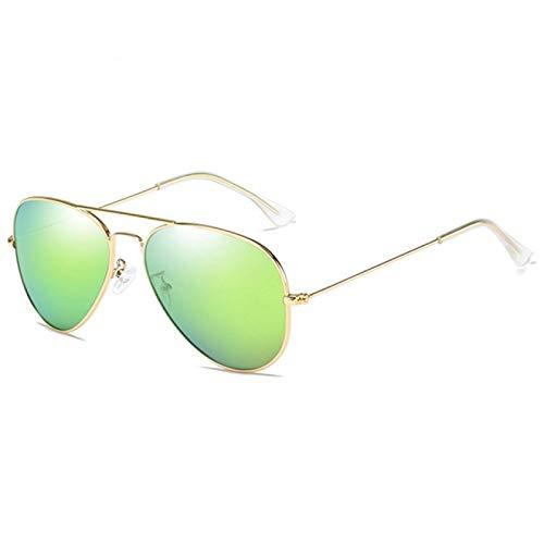 Gafas de Sol Sunglasses Gafas De Sol Clásicas De Piloto para Hombre, Gafas De Sol Polarizadas De Rayos De Metal Vintage para Mujer, Colores De Espejo, Gafas De Conducción para Homb