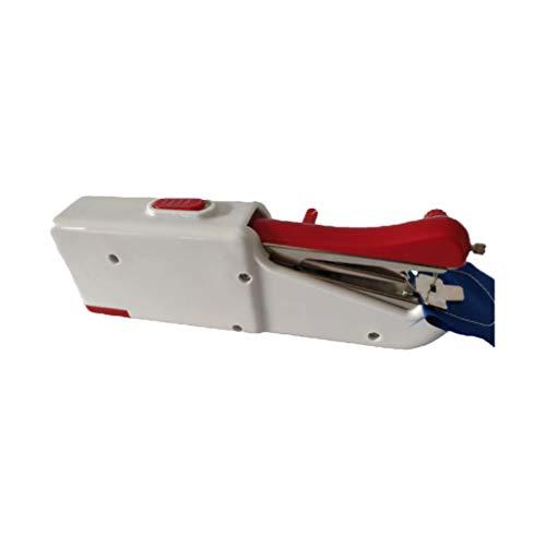 MILISTEN Mini Máquina de Coser Portátil Máquina de Coser Eléctrica Portátil Puntada Rápida para Viajar a Casa O Trabajar (Batería No Incluida)