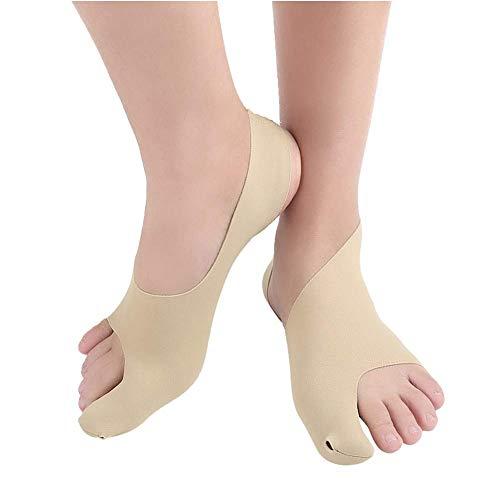 BGSFF Corrector de juanetes Alivio de juanetes, órtesis en valgo del Pulgar ultradelgada Huesos Grandes del pie Alineador del Pulgar Corrector en valgo del Dedo del pie Comodidad transpi