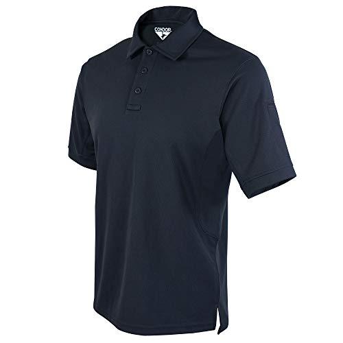 Condor Performance Tactical Polo Shirt (Navy Blue, 2X-Large)