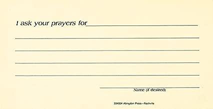 Prayer Request Card (Pkg of 25)