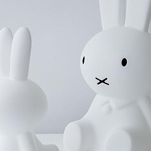 Mr Maria - Miffy XL Lampe - 80cm Höhe - bruchsichere kindergroße LED-Kinderlampe Hase - Dimmbare Nachtlampe für jedes Kinderzimmer