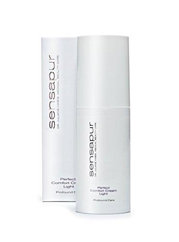 SENSAPUR Perfect Comfort Cream Light hautklärende und mattierende Hydrocreme für sensible, normale, fettende und Mischhaut 50ml