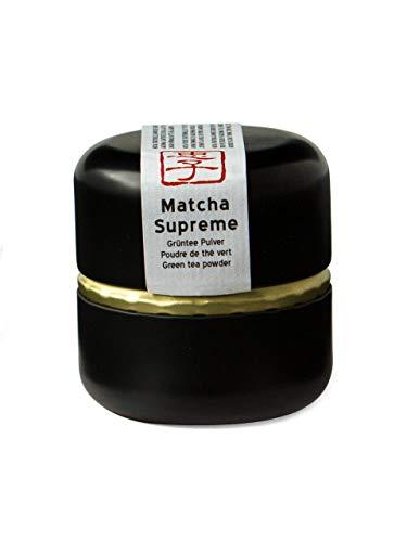 Keiko Matcha Supreme, Bio Anbau - 30 Gramm Grünteepulver, Matcha Premium aus Kagoshima, Japan