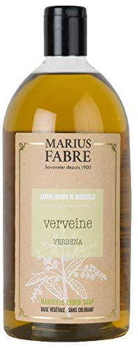 Marius Fabre 'Herbier' : Flüssigseife Verbene (Eisenkraut, Verveine) 1 Liter Nachfüllflasche