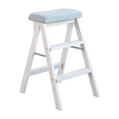ZHJBD Furniture Stool/Madera 3 gradas Asiento for