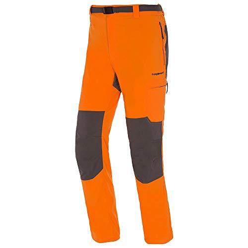 TRANGO Pant. Largo ZAYO DN Pantalón Deportivo, Naranja/Sombra Oscuro, M para Hombre