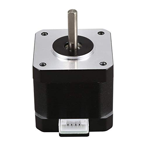 Y-Longhair 5Pcs 17HS4401S Motor Speed Stable 4-Lead Nema17 Stepper Motor 42 Motor Low Noise 42BYGH 1.7A for CNC XYZ 3D Printer Accessories