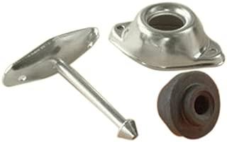 RV Designer E251, Entry Door Holder, Metal Plunger, 3 inch, Outside Hardware