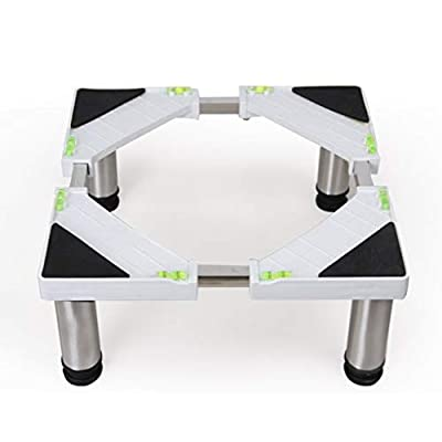 Adjustable Washing Machine Base Roller Moving Refrigerator Bracket Washing Machine Floor Trays Washing Machine