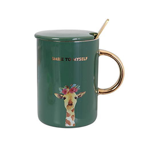 Tasses à café en Porcelaine de Tasse à thé de thé Elegant_RG, Tasse en céramique d'animaux d'or de Tasses de nouveauté