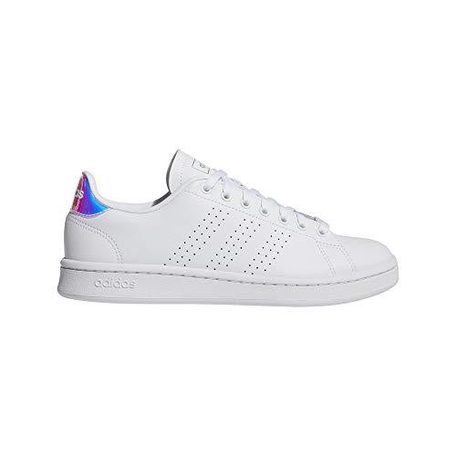 adidas Advantage, Zapatillas de Tenis para Mujer, FTWBLA/Plamet/FTWBLA, 42 EU