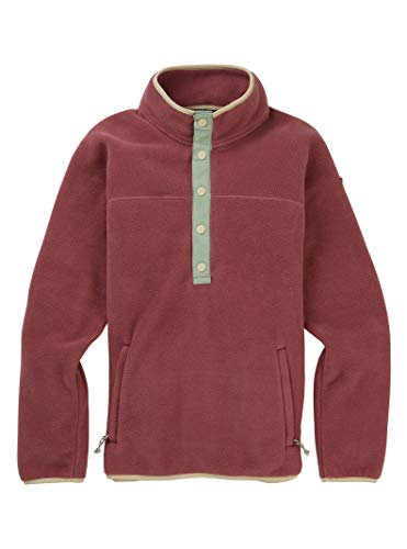 Burton Damen Hearth Fleece Pullover, Rose Brown, L