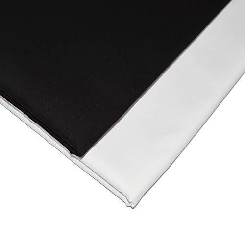 Designers-Factory - Retal de tejido popelina 100% algodón, tejido de algodón (doble 2 retales de 1 m x 1,46...