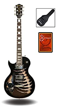 skull electric guitar