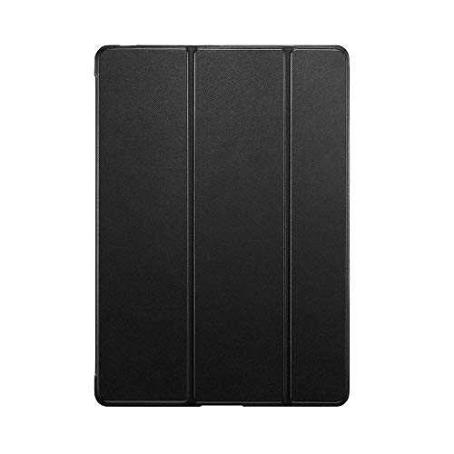 YYLKKB For iPad 10.2 inch 2020 For ipad 8th Gen 10.2 A2428 A2429 PC Back PU Leather Smart Cover Auto SleepAuto Sleep-Black-10.2 2020 8th