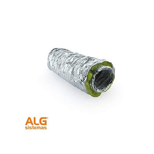 MUNDOCLIMA Tubo Flexible Aislado para Aire Acondicionado y climatizacion.