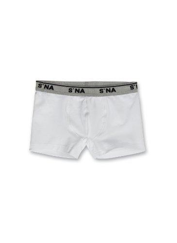 Sanetta Jungen Boxershort 343673, Gr. 164, Weiß (10)