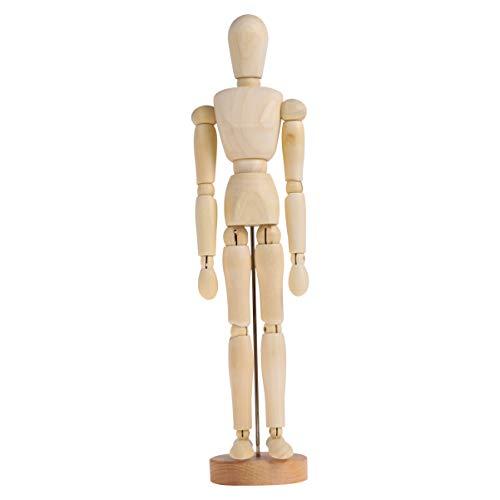Toyvian Bewegliche Gemeinsame Marionette Ornament Holzhandwerk Desktop Schmuck Skizzenmodell