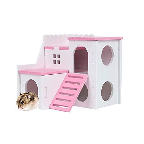 xiamenchangketongmaoyi Jaula Hamster Ruso Jaula Hamster Grande Hámster Hámster Accesorios Hámster Enano...