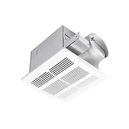 Ultra Quiet Ventilation Fan Bathroom Exhaust Fan (110CFM/0.8Sone) with 6 Inch Duct Size