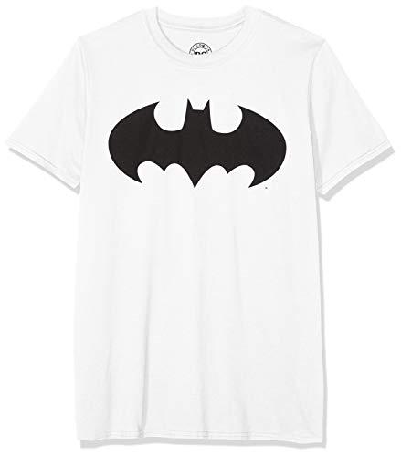 DC Comics T-Shirt Mono Batman White L