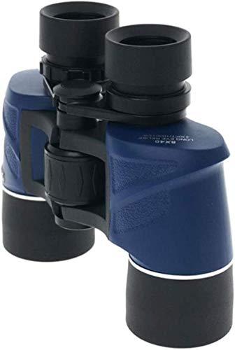 IF.HLMF Binoculares monoculares de Alta Potencia, telescopio para Adultos, BAK9, visión Nocturna HD LLL de Gran Aumento para cruceros Marinos, Senderismo, Caza, Azul