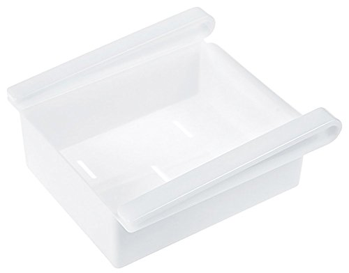 Westeng Caja de almacenamiento para frigorífico, accesorio de cocina, multifunción, plástico abs, Blanco, talla única