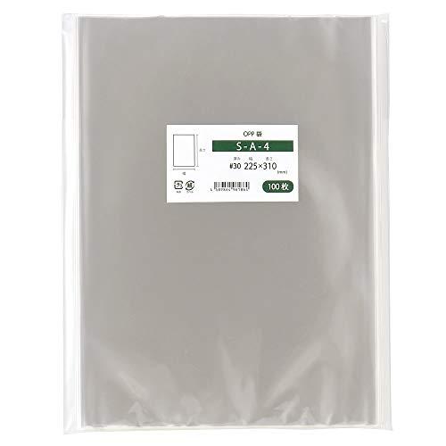 OPP袋 A4 テープなし 国産 225x310mm 1000枚入 S-A-4
