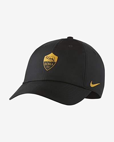 Nike Roma U Nk Dry H86 cap, Berretto Unisex Adulto, Nero/Giallo (Black/University Gold), One Sizeca
