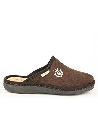 Grunland, Enea CI0389, zapatillas de punta cerrada, paño Marrón Size: 40 EU