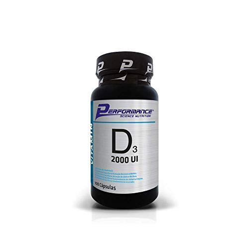 Vitamina D3 2000 UI 100 Cápsulas - Performance Nutrition