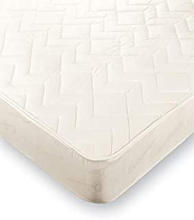Protector de Colchón Transpirable, Cubre Colchón Acolchado Antiácaros, Tacto Suave y Ajustable. Color Blanco. (150x190/200)