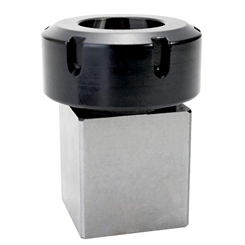 CLJ-LJ Plaza ER40 Collet Chuck bloque porta herramientas CNC Torno del acero duro de la máquina de grabado del agujero de perforación