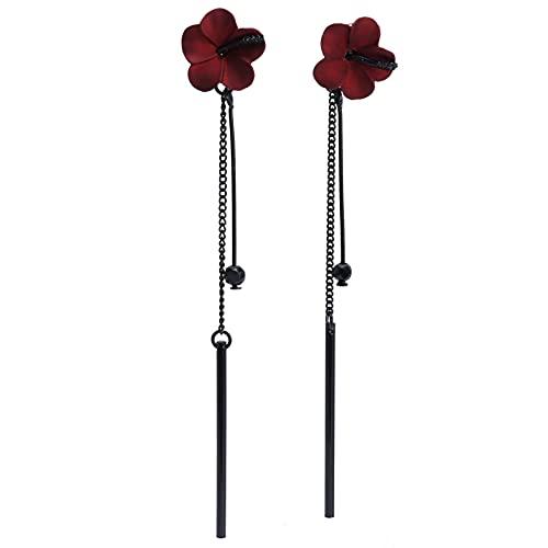 Pendiente colgante, pendientes colgantes con bisagras estilo flor para diferentes atuendos para diversas situaciones