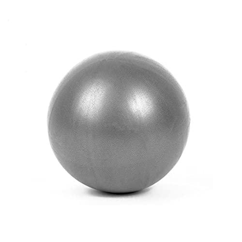 MEXEE 20-25cm Pilates bola yoga pelota ejercicio gimnasia fitness pelota equilibrio ejercicio fitness fitness fitness yoga núcleo y interior pelota de entrenamiento plateado gris